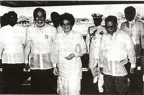 President Corazon C. Aquino's 1st SONA
