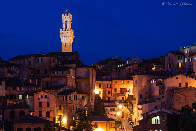 Siena at Blue Hour