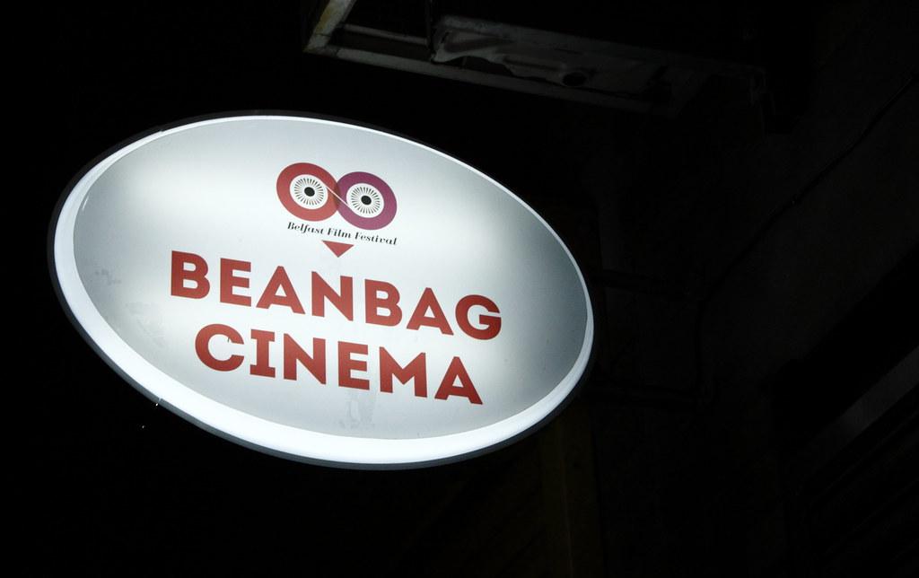Marvelous Beanbag Cinema Looking Up Exchange Place In Belfasts Cath Andrewgaddart Wooden Chair Designs For Living Room Andrewgaddartcom