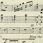 "Image from page 155 of ""With heart and voice : a collection of songs for use in Sunday schools, young people's societies and other devotional meetings"" (1905)"
