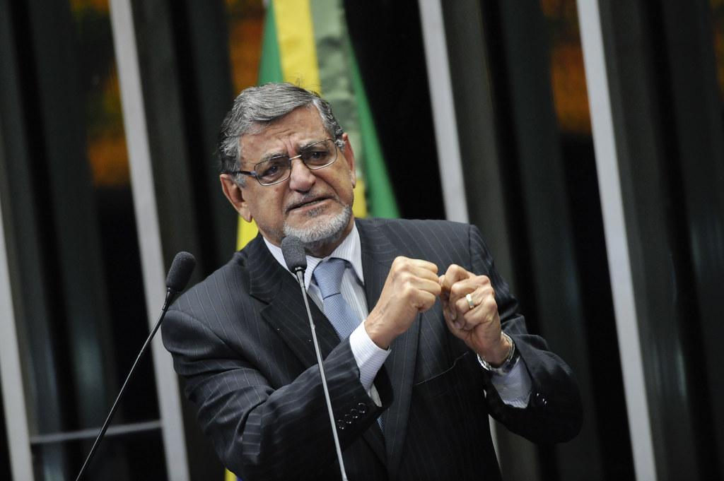 Ex-senador Mário Couto planeja candidatura a prefeito em Belém ou Santarém, Plenário do Senado