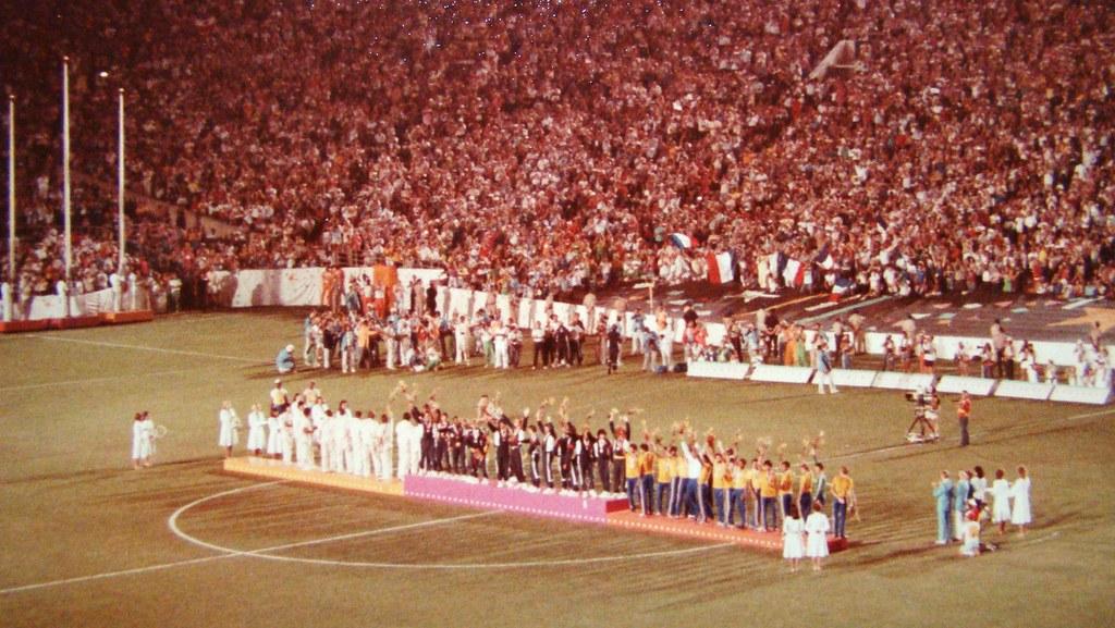 1984 Olympics Soccer / Football - Awards Ceremony - Gold M…   Flickr