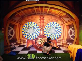 3d exhibition sticker (255) | by 3D floor sticker - YeJun