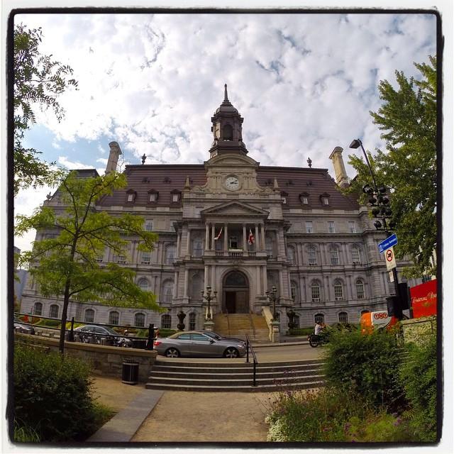 Hôtel-de-Ville #Montréal