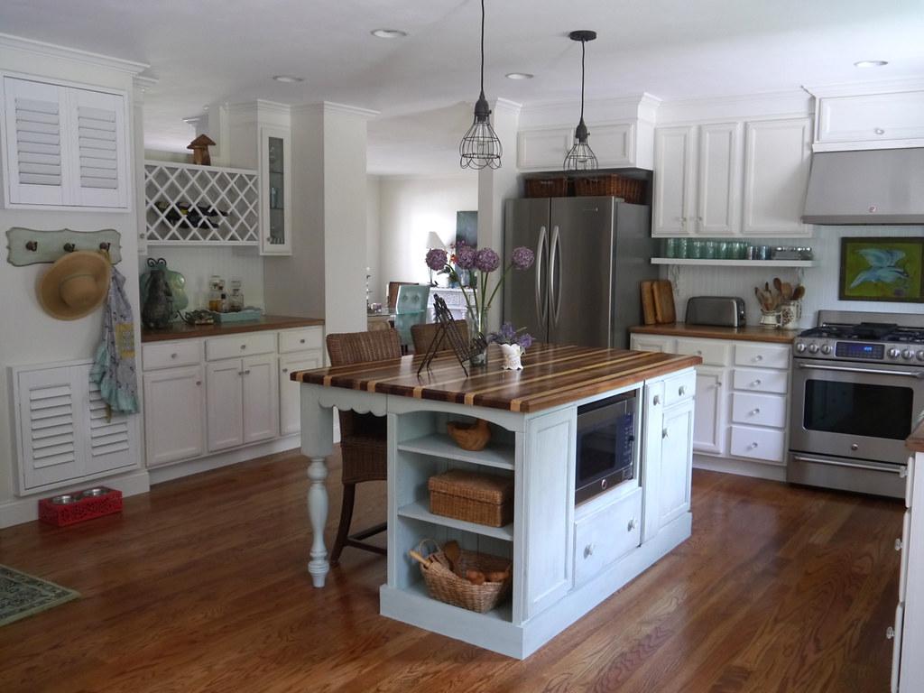 Cottage kitchen remodel dated ranch home kitchen remodel flickr for Arredamento stile americano