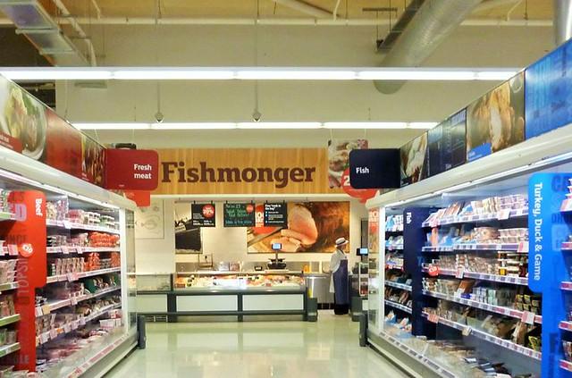 Fishmonger Sainsbury's, Nottingham Road, Melton Mowbray, Nearly One Year Old
