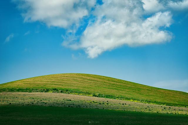 Sicilian hill