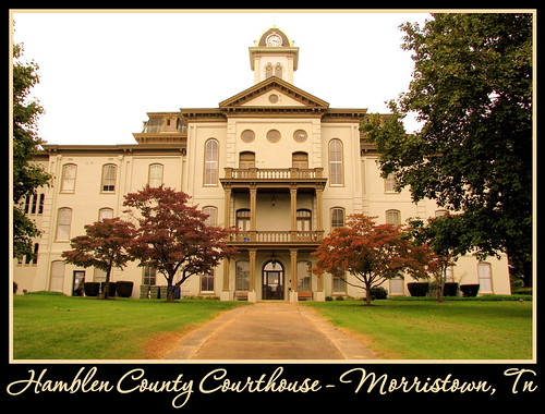 Hamblen County Courthouse - Morristown, TN | by SeeMidTN.com (aka Brent)