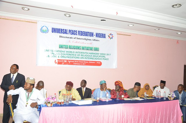 Nigeria-2017-02-04-World Interfaith Harmony Week Observed in Nigeria