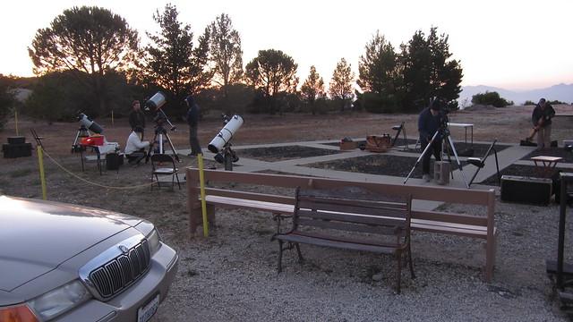 IMG_0372 SBAU telescopes Winchester Canyon gun club shotgun area