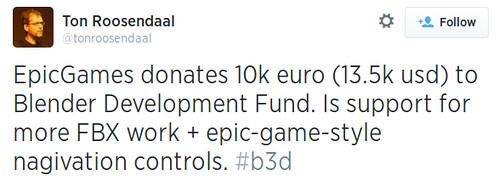 Epic Games szponzorálja a Blender-t | by HUP.hu