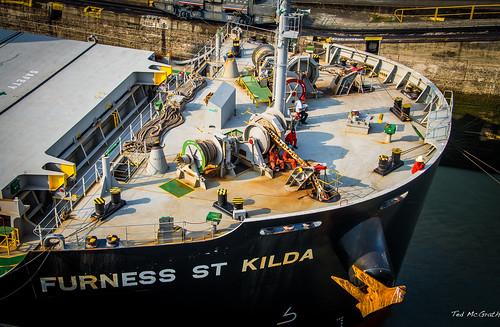 boat canal nikon ship rope chain anchor mast panama railing vignetting mule panamacanal bulkcarrier prow d600 tedsphotos nikonfx d600fx furnessstkilda