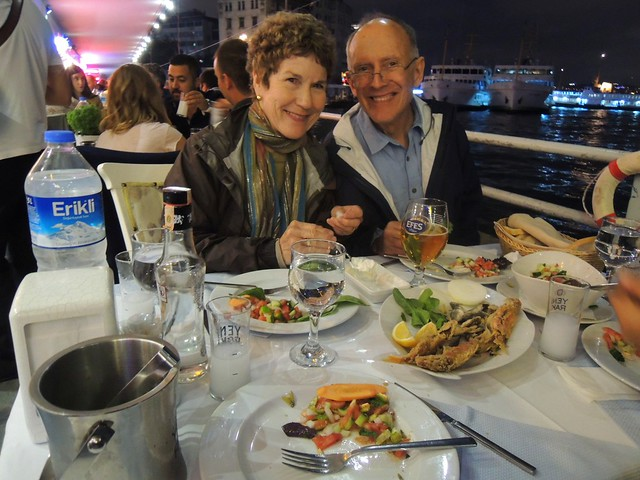 Dinner at Galata Köprüsü by bryandkeith on flickr