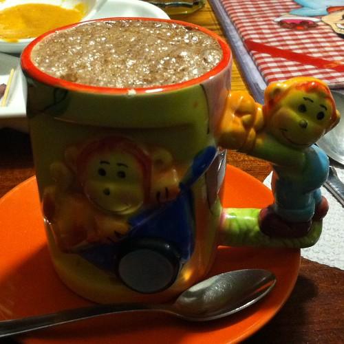 Peruvian Hot Chocolate @ Green Point
