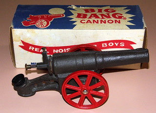 Vintage Big Bang Cannon By Conestoga Co., Inc., Bethlehem, PA, Model 6F Breech Loading, Real Noise For Boys | by France1978