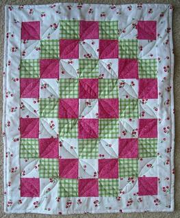 cherry doll quilt