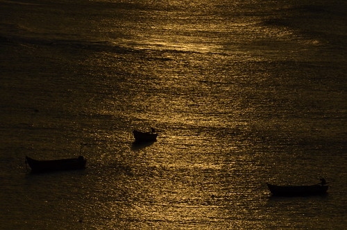 ocean sea india beach sunrise boat nikon kanyakumari goldencolor