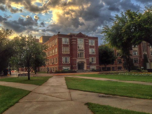 University of North Dakota at dawn | by RickAbbott