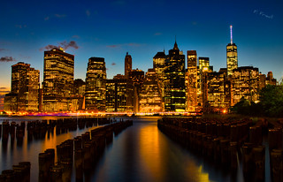Week 34 - Manhattan Skyline | by Florian F. (Flowtography)