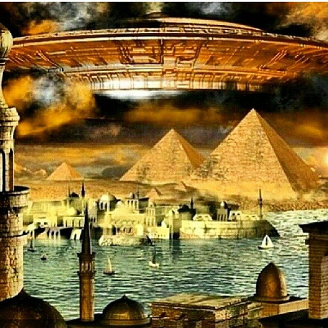 Egypt #Atlantis #Babylon #pyramids #stargate #portal #gat… | Flickr