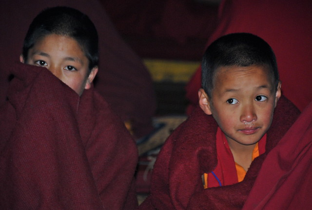 India-Arunachal Pradesh-Tawang monastery