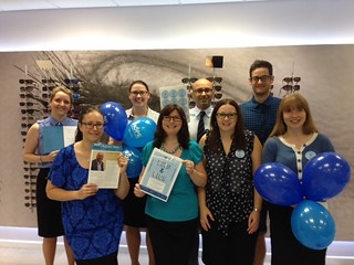 Bold & Blue Staff | by Hope Against Cancer