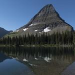 Hidden Lake with Bearhat Mountain