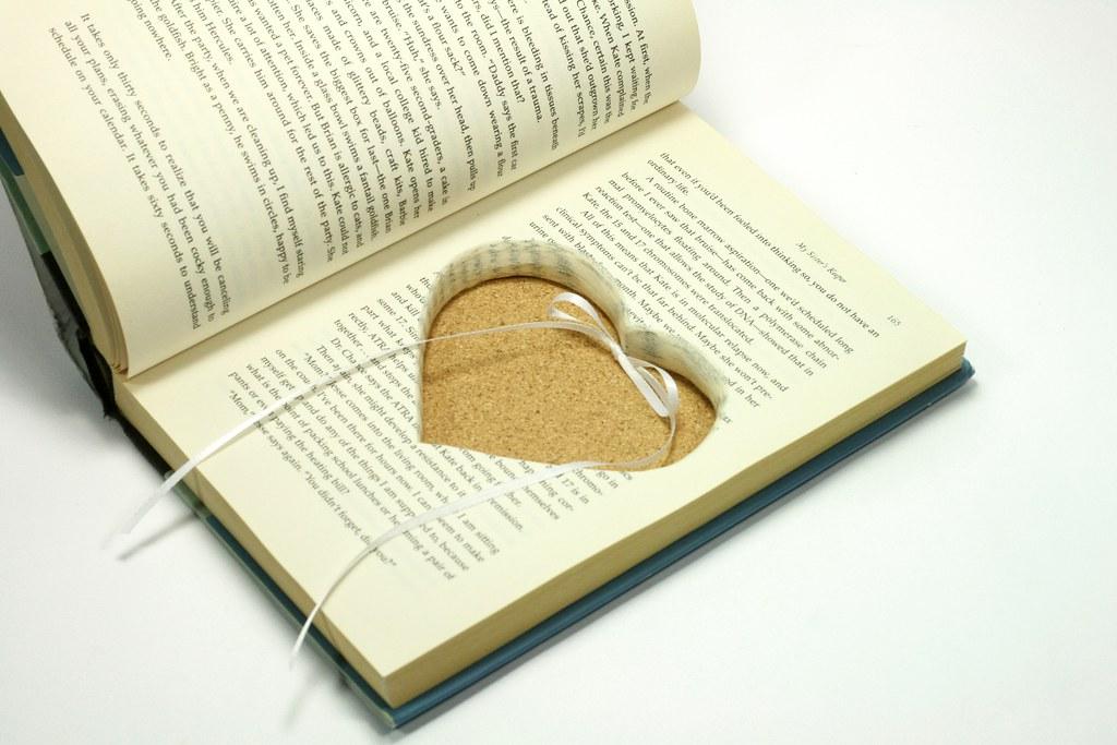 Custom Heart Cut Out Hollow Book | Virtualdistortion | Flickr