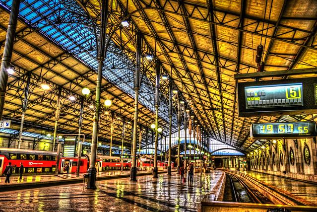 Rossio Train station - Lisbon Portugal
