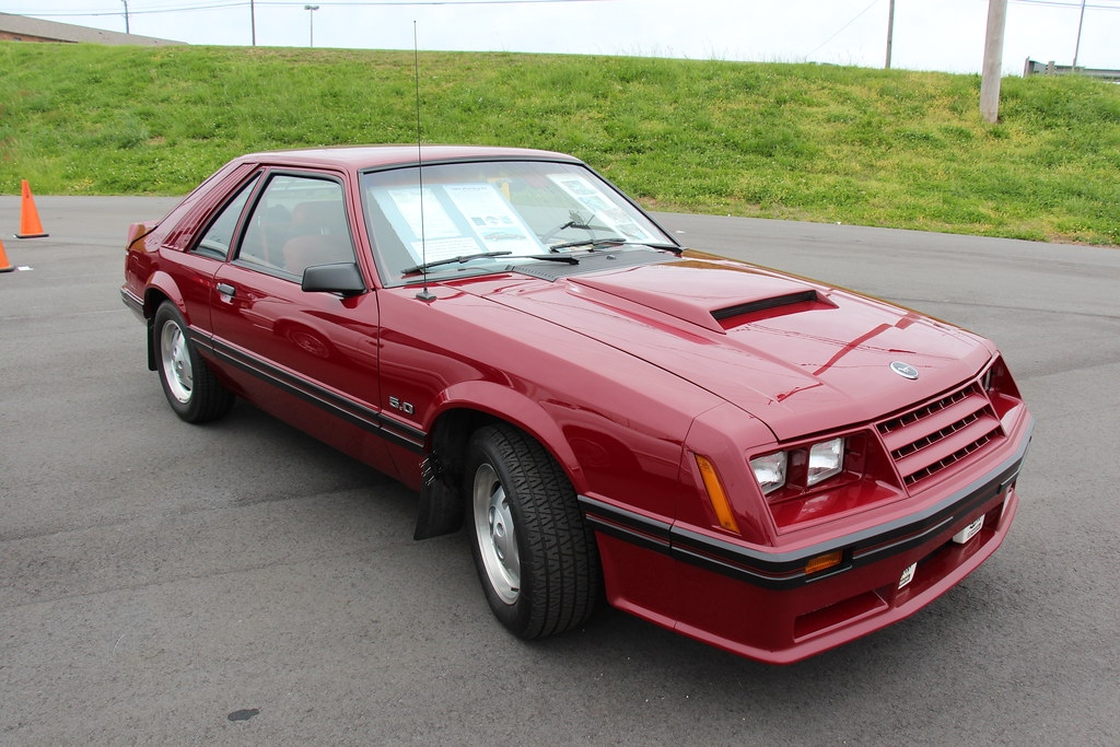 1982 Mustang Gt >> 1982 Ford Mustang Gt Hatchback Dark Red Fords Pony Car T