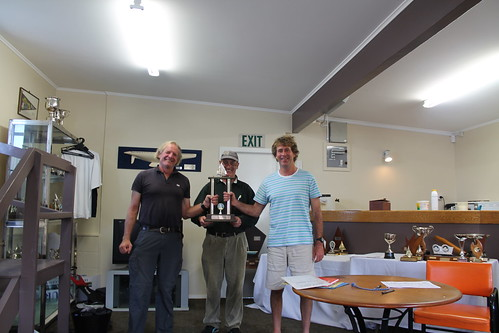 Ian Wallace and Andrew Irving   by PLSC (Panmure Lagoon Sailing Club)