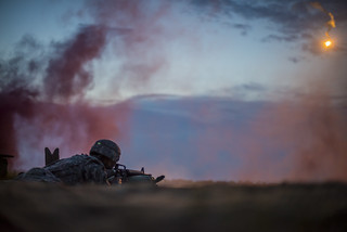 Night Fire Qualification | by The U.S. Army