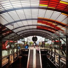 busplatform Amsterdam Centraal