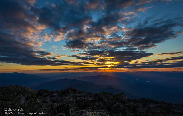 Sunset at the Summit