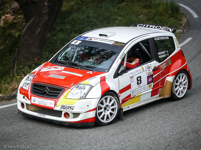 Citroen C2 S1600 Gr. A6K - Thierry TROIANO : Valerie TROIANO