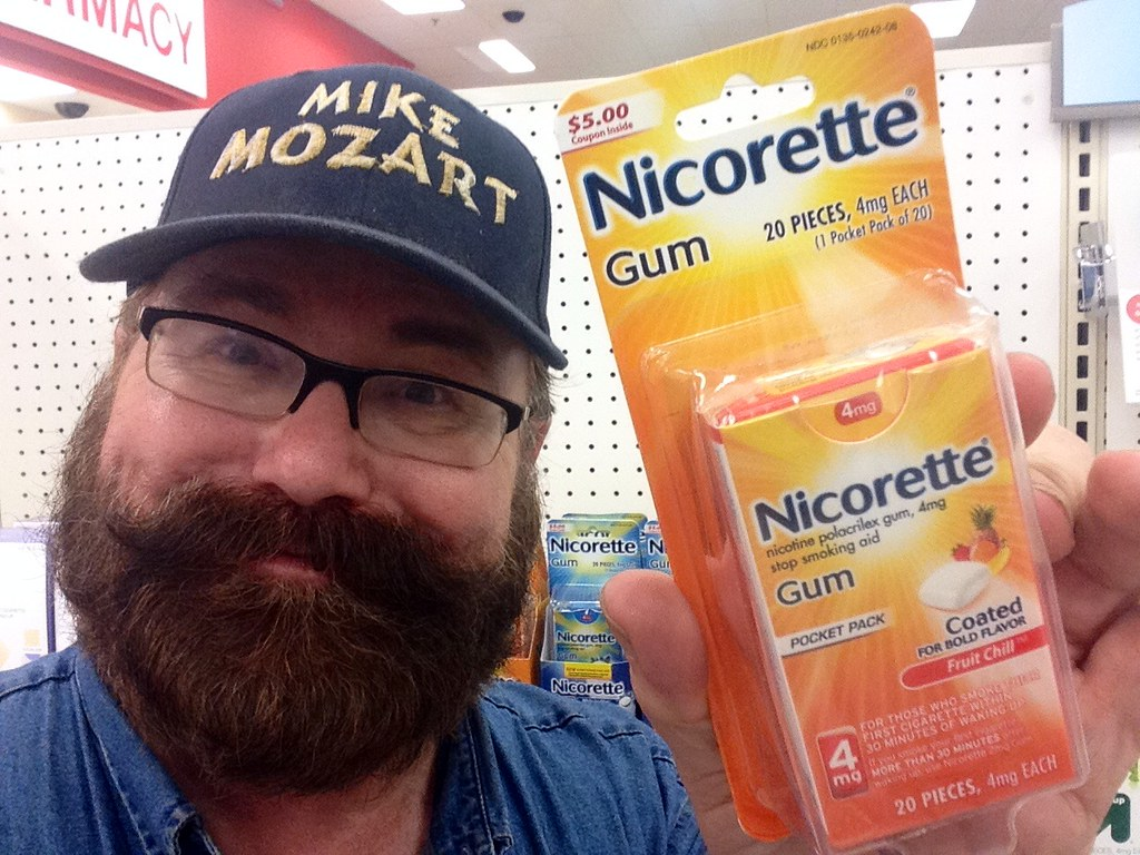 1bee3560d Nicorette Gum, Stop Smoking, GlaxoSmithKline, 9/2014 by Mike Mozart of  TheToyChannel and JeepersMedia on YouTube #Nicorette #Gum #GlaxoSmithKline