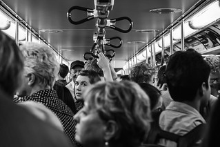 yonge subway line - rush hour | by Anne J Gibson