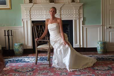 Bride at Woodlawn Farm, Ridge, MD