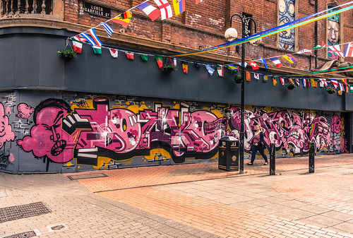 STREET ART IN BELFAST CITY [LOWER GARFIELD STREET] | by infomatique