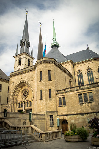Notre-Dame Cathedral Luxembourg | by the_munkeh