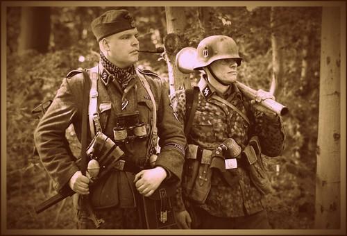 Frikorps Danmark soldater Nyvang 2014