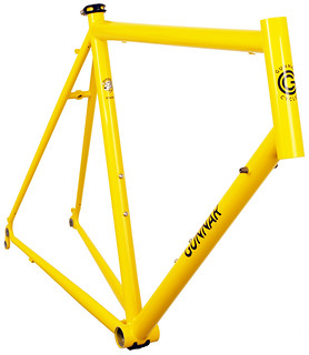 Gunnar Roadie Custom in Gunnar Yellow - front view. | by Gunnar Cycles