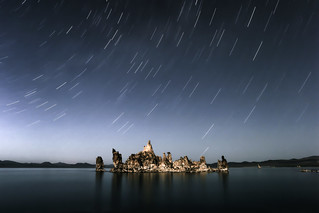 Mono Lake Star Trails | by Joe Parks