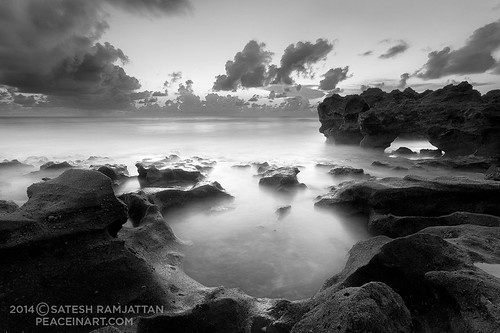 ocean seascape beach sunrise landscape florida jupiter satesh coralcovepark peaceinart