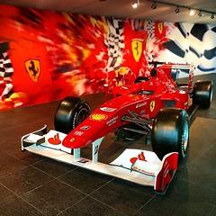 #Ferrari_world #red #car #abu_dhabi #yas_island #dream #formula  #ferrari #speed #uae
