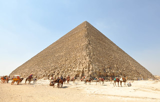 The Great Pyramid of Giza (Pyramid of Cheops or Khufu) | by Jorge Lascar
