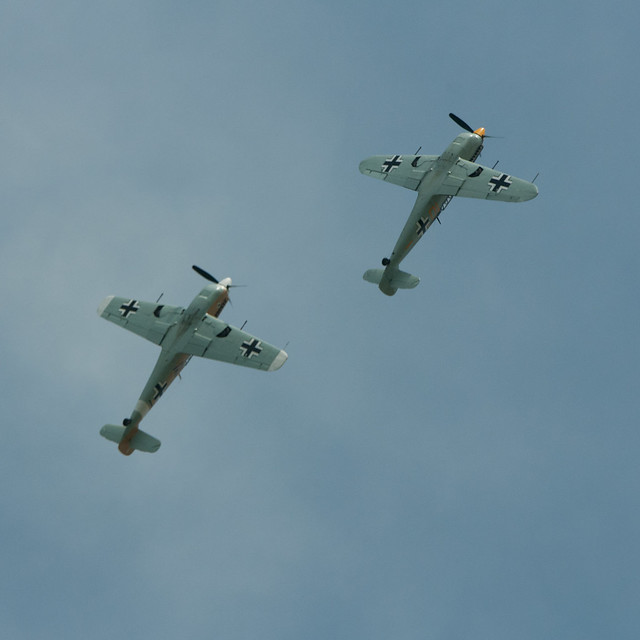 ME109s in Formation