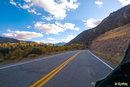 travel nature colorado unitedstates foliage motorcycle gunnison adventuretravel bcycles gbm05