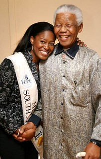 Thuli with Nelson Mandela | by consultinginspire