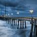 North Carolina Outer Banks Fishing Pier by Mark VanDyke Photography
